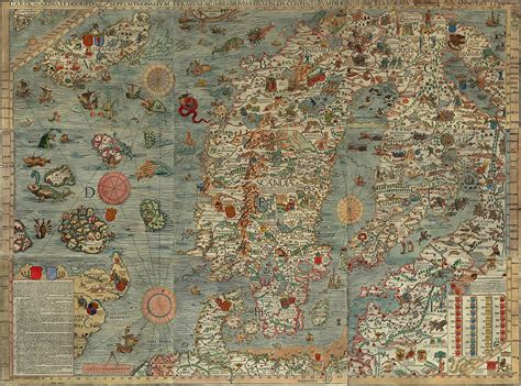 map of the sea sea map with monsters o a r s