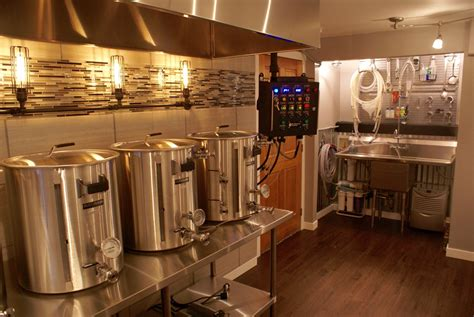100 home brewery design basement homebrewery induction