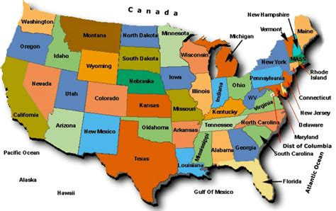 map of the united states with abbreviations uscourse us state codes