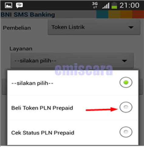 format cek mutasi sms banking bni cara membeli token listrik via sms banking bni emiscara com