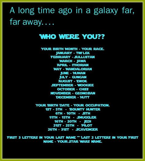 theme names generator a star wars name generator from a more civilized age