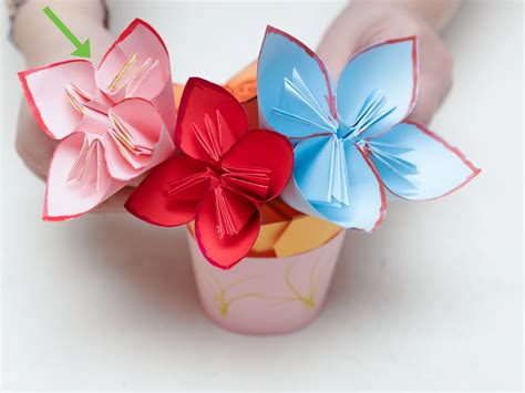 a4 paper origami flower stylish origami with a4 paper flower