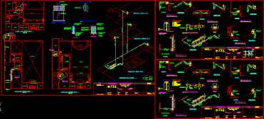 plane  gas dwg full project  autocad designs cad