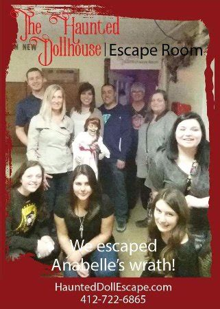 haunted doll escape room the haunted doll house escape room pittsburgh pa