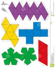 Platonic Solids Templates by Platonic Solid Net Www Imgkid The Image Kid Has It