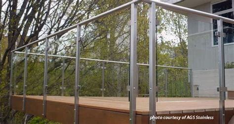 How To Build A Handrail For Stairs Glass Deck Railings Glass Balcony Railings Residential