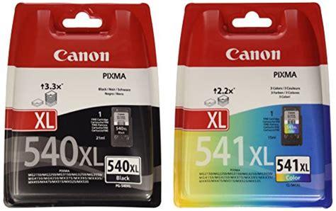 New Tinta Canon Pg 746 Color New opiniones canon pg 540xl y cl 541xl juego de cartuchos
