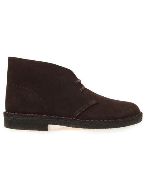 clarks originals desert boot brown suede clarks