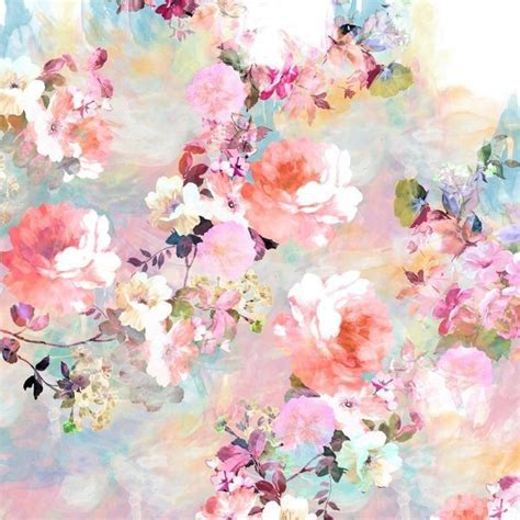 flower wallpaper aesthetic aesthetic colorful floral floral print flowers image