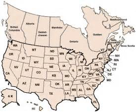 us and canada map with states and provinces locations classes certification