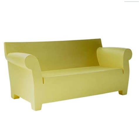 sofa plastic bubble club sofa by philippe starck modern home decor