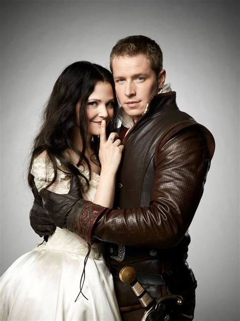 snow white prince charming once upon a time photoshoot
