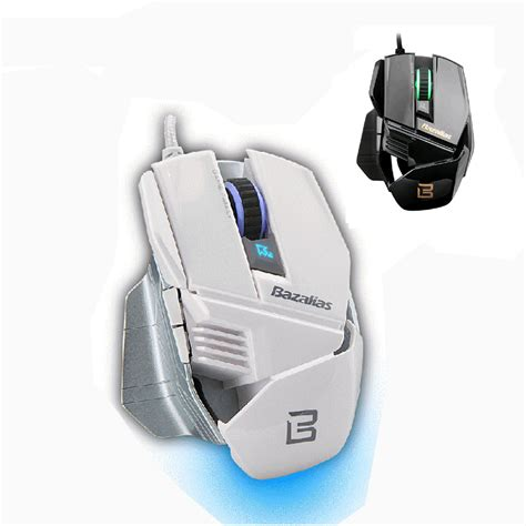 Diskon Hight Precision Gamming Usb Mouse 6d Multyfungsi bazalias x1 optical usb wired gaming mouse 6d led light high precision mice 2000 dpi for mac pc