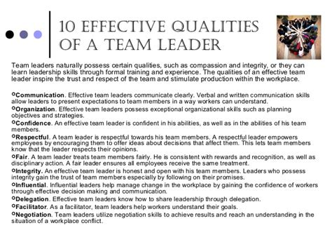 Essay About Characteristics You Look For In A Friend by Qualities Of An Effective Leader Essay Myteacherpages X