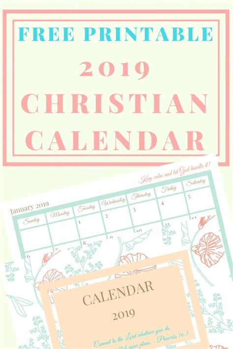 printable  christian calendar  planner christian calendar christian printables