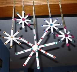 craft stick snowflakes fun family crafts