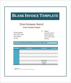 blank invoice doc printable invoice template