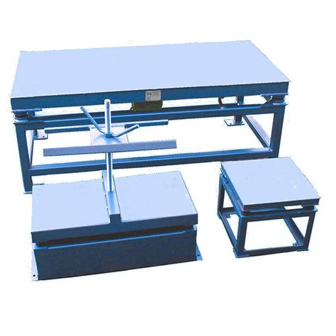 Vibrating Table by Vibrating Table Type Ftt Electrotech Drives