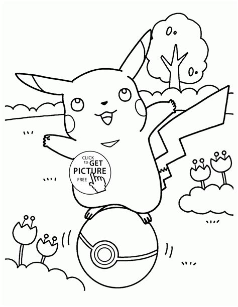 coloring pages for pokemon characters pikachu pokemon coloring pages for kids pokemon