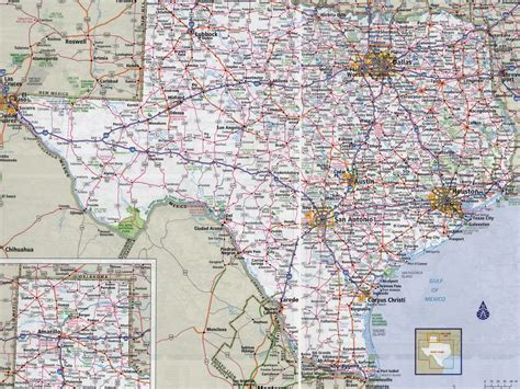 detailed map of texas cities and towns texas map all cities