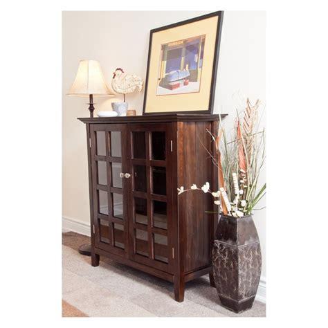 simpli home artisan medium storage cabinet simpli home axchol007 artisan medium storage cabinet www