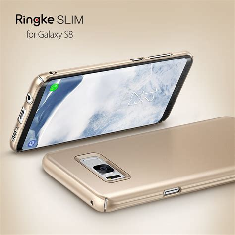New Ringke Slim Samsung Galaxy S8 White ringke 174 slim lightweight galaxy s8 plus