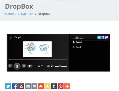 download mp3 from dropbox play dropbox mp3 files in html5tap player html5tap
