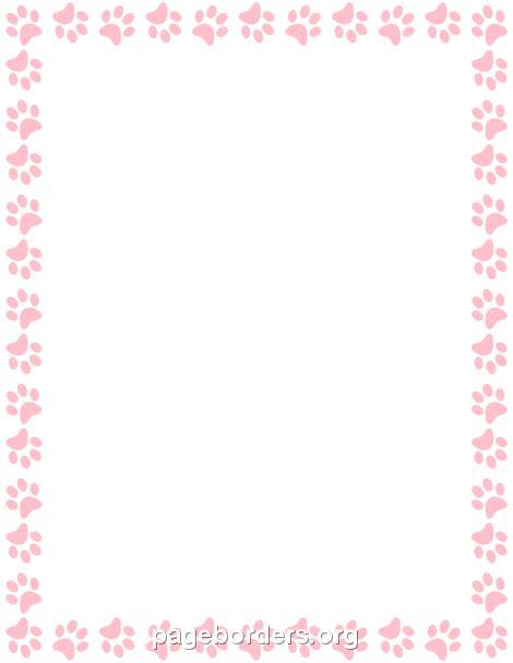 border paw prints results calendar 2015
