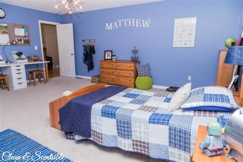 Clean Bedroom by Boys Bedroom Ideas Home Tour Clean And Scentsible