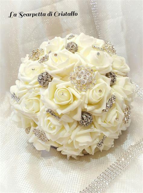 fiori nozze d argento bouquet gioiello nozze d argento feste matrimonio di