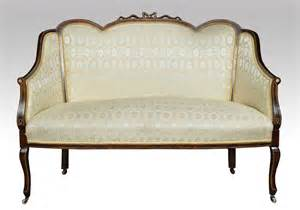 antique 2 seater sofa late victorian inlaid two seater sofa antiques atlas