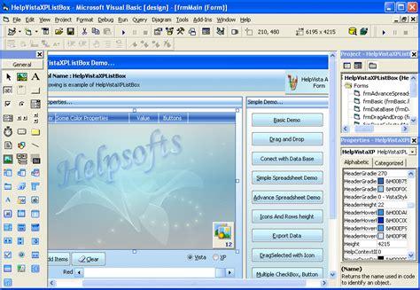 vb layout ocx download visual basic 6 0 screenshots