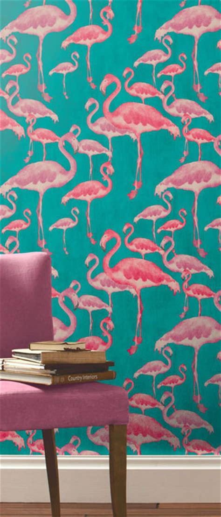 flamingo wallpaper uk wallpapersafari