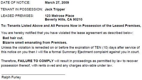 sle eviction notice nc demand letter carolina doc 588624 free eviction template