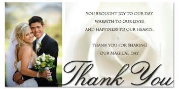 thank you card for wedding show gratitude to your loved ones with thank you cards