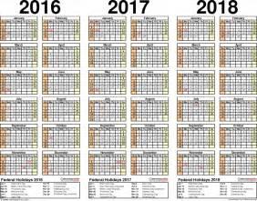 multi month 2016 calendar free calendar template