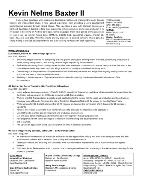henry ford resume resume ideas
