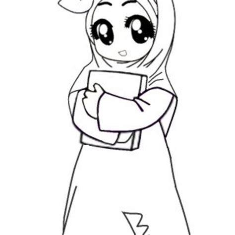 Baju Blouse Dm Kartun Putih gambar pictures gambar kartun muslimah comel drawing
