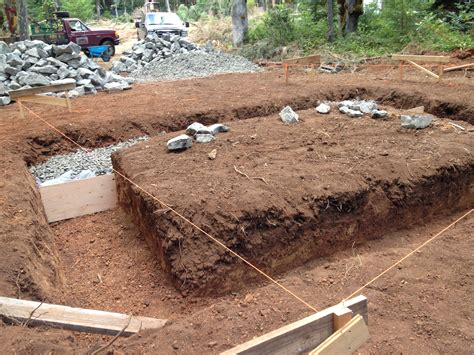Cob House Floor Plans by Building A Stone Foundation This Cob House