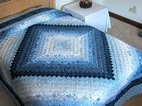 Blue King Quilt by Color Splash Quilt Marvelous Adeptly Made Amish Quilts