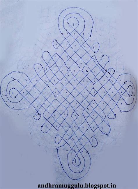 design pic andhra muggulu