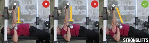 bench press bar path 10 bench press mistakes that kill and injure lifters stronglifts