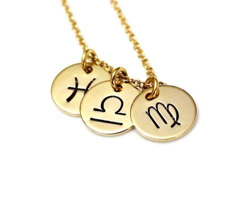 zodiac constellation necklace bff jewelry astrology