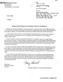 irs letter template sle letter to irs levelings