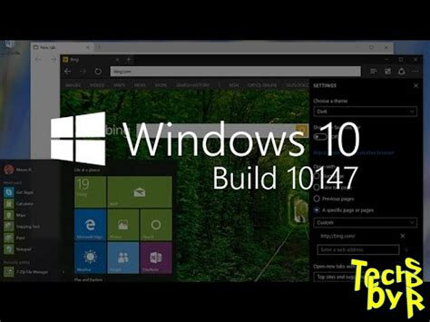 wallpaper windows 10 build 10147 windows 10 build 10147 iso 64 bit free download tech by spr