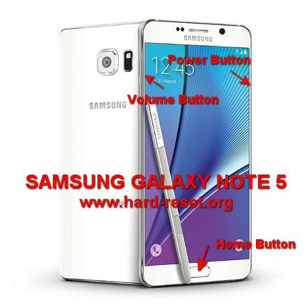 reset samsung note how to easily master format samsung galaxy note 5 sm