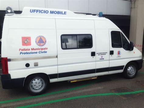 comune polizia municipale ufficio verbali nuovo allestimento per il furgone ufficio mobile della