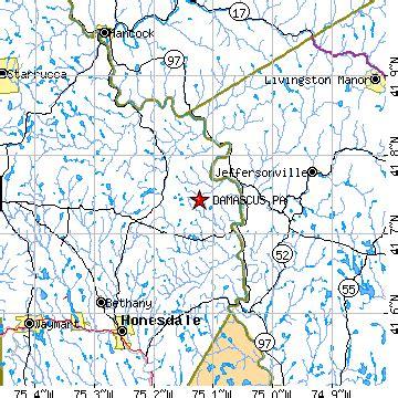 damascus, pennsylvania (pa) ~ population data, races