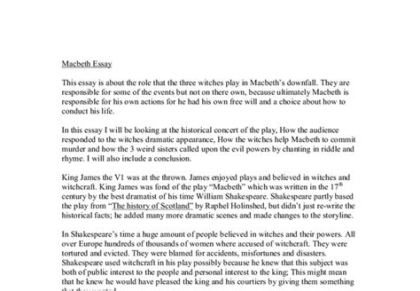themes in macbeth and the laboratory essay of macbeth by william shakespeare docoments ojazlink