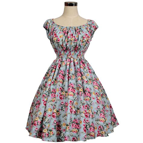 sixties swing dresses vintage retro dress rockabilly swing jive floral dots